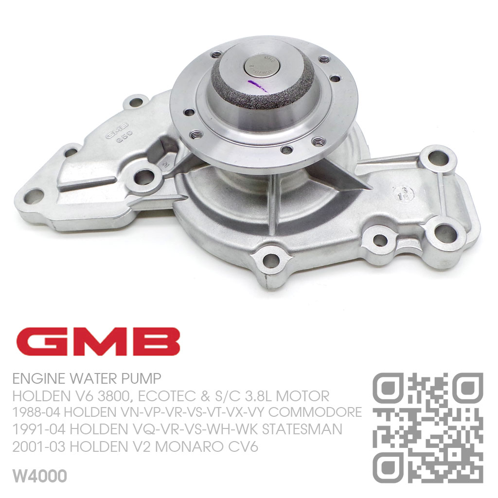 Supercharged Ecotec Engine: GMB WATER PUMP V6 ECOTEC 3.8L MOTOR [HOLDEN VS-VT-VX-VY