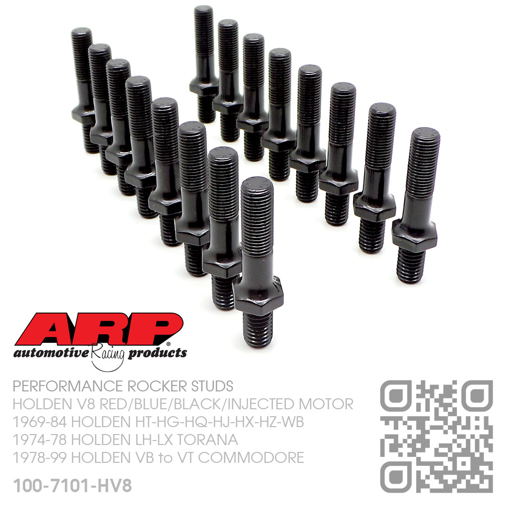 """ARP 7//16/"""" rocker studs with guide plates push rods 302 Ford Mustang F150 Galaxie"""